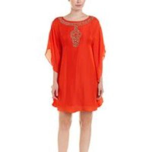 Trina Turk Anissa Silk-blend Shift Dress. NWT!